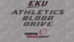 EKU ATHLETICS BLOOD DRIVE